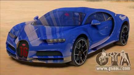 Bugatti Chiron Sport Blue for GTA San Andreas