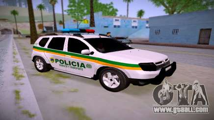 Duster Police Transit Colombia for GTA San Andreas