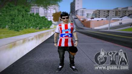 Skin Sornero Junior Mode FC for GTA San Andreas