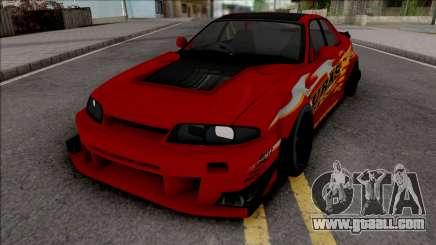 Nissan Skyline R33 Uras GT for GTA San Andreas
