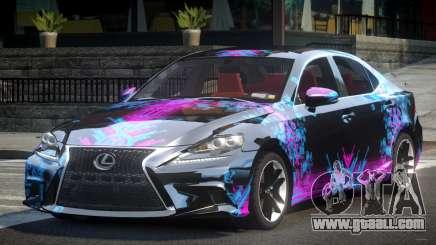 Lexus IS 350 SR L6 for GTA 4