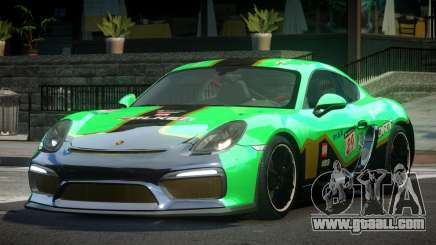 Porsche Cayman GT4 R-Tuned L5 for GTA 4