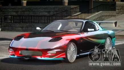 Mazda RX-7 PSI Racing PJ8 for GTA 4