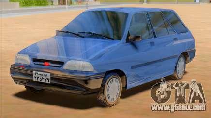 KIA Pride Wagon [Saipa Safari] for GTA San Andreas