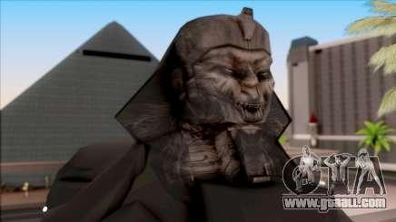 Sphinx Retexture for GTA San Andreas