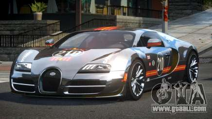 Bugatti Veyron GT R-Tuned L3 for GTA 4