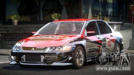 Mitsubishi Evolution VIII GS L1 for GTA 4