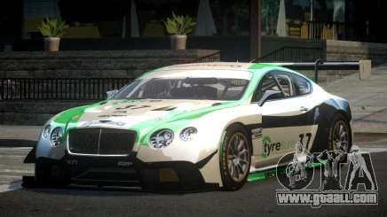 Bentley Continental GT Racing L6 for GTA 4