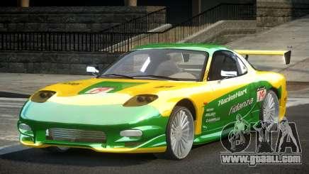 Mazda RX-7 PSI Racing PJ7 for GTA 4