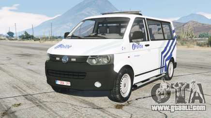 Volkswagen Transporter Kombi (T5) Politie for GTA 5