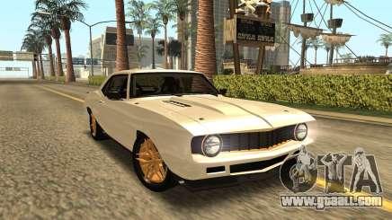 Chevrolet Dutch Boys Camaro SS 1969 for GTA San Andreas