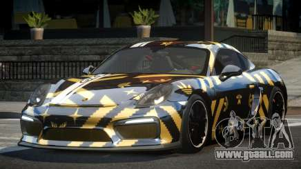 Porsche Cayman GT4 R-Tuned L8 for GTA 4