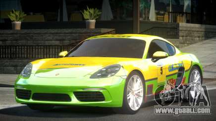 Porsche 718 Cayman L9 for GTA 4