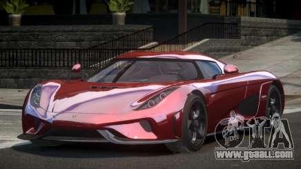 Koenigsegg Regera GT for GTA 4