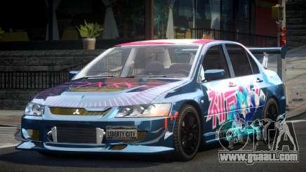 Mitsubishi Evolution VIII GS L9 for GTA 4
