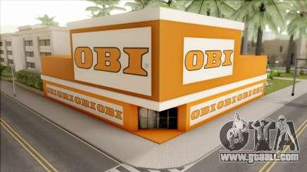 OBI Baumarkt for GTA San Andreas