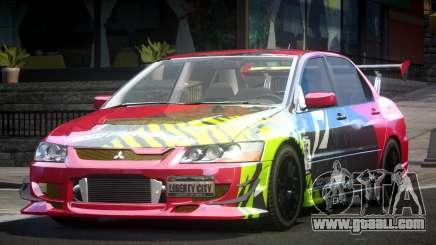 Mitsubishi Evolution VIII GS L3 for GTA 4