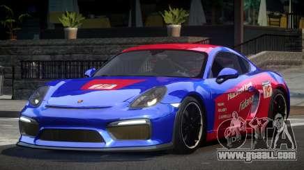 Porsche Cayman GT4 R-Tuned L7 for GTA 4