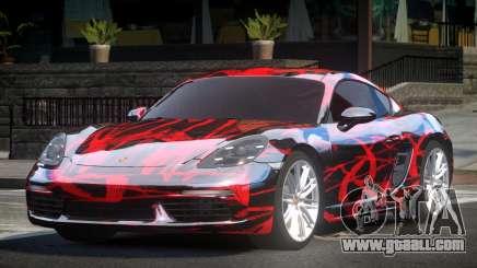 Porsche 718 Cayman L2 for GTA 4