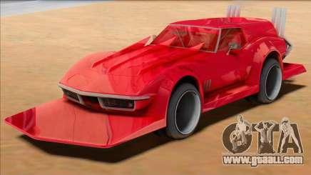 Chevrolet Corvette C3 Wagon Bosozoku for GTA San Andreas