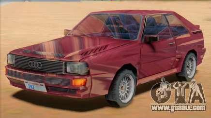 Audi Quattro B2 1991 for GTA San Andreas