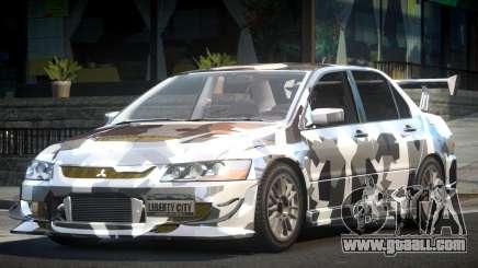 Mitsubishi Evolution VIII GS L10 for GTA 4