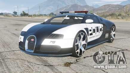 Bugatti Veyron Police for GTA 5