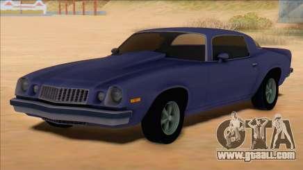 Chevrolet Camaro 1975 for GTA San Andreas