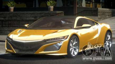 Acura NSX PSI R-Tuned for GTA 4