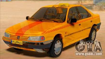 Peugeot 405 Road taxi for GTA San Andreas