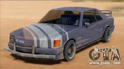 1991 Mercedes 560 SEC Insurgent [SA Style] for GTA San Andreas