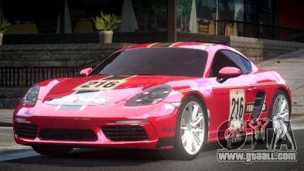 Porsche 718 Cayman L3 for GTA 4