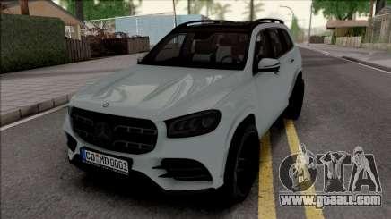Mercedes-Benz GLS 2020 Grey for GTA San Andreas