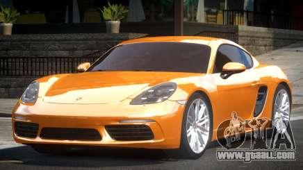 Porsche 718 Cayman for GTA 4