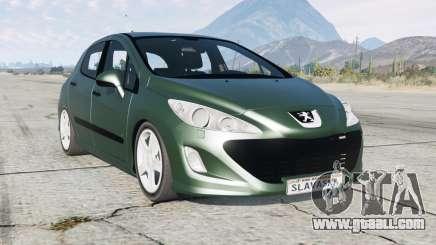 Peugeot 308 HDi 5-door (T7) 2010 for GTA 5