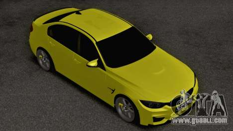 BMW M3 F80 for GTA San Andreas