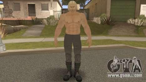 Paul Shortcut Hair with Vendetta Pants V8 for GTA San Andreas
