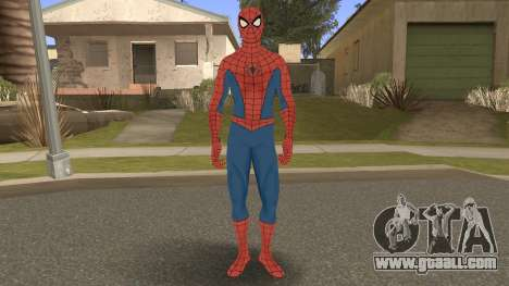 Spider-Man Classic Suit PS4 Retexture for GTA San Andreas