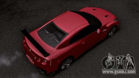 2019 Nissan GTR Special Edition (R35) for GTA San Andreas