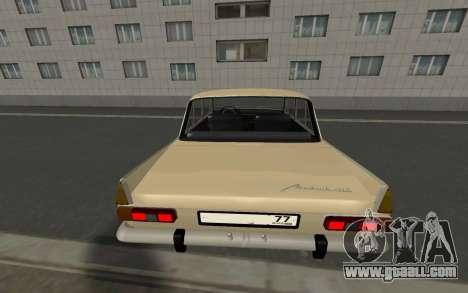 Muscovite 412 77RUS for GTA San Andreas