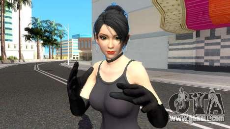 Momiji Black Suit V2 for GTA San Andreas