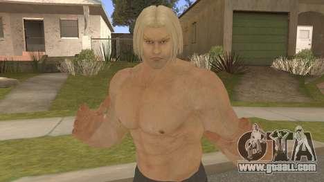 Paul Shortcut Hair with Vendetta Pants V9 for GTA San Andreas