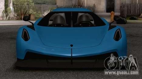 Koenigsegg Jesko Absolut for GTA San Andreas