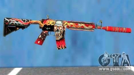 M4A4 Kill Confirmed for GTA San Andreas