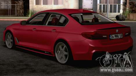 BMW 540i MPerformance for GTA San Andreas