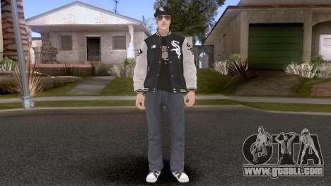 New Maccer Casual V1 Maccer Hotline White Sox for GTA San Andreas