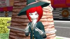 Himiko Yumeno from Danganronpa V3 for GTA San Andreas