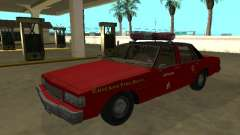 Chevrolet Caprice 1987 Chicago Fire Dept for GTA San Andreas