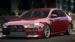 Mitsubishi Lancer X GS for GTA 4