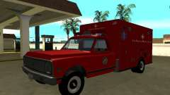 Chevrolet C-10 1972 Ambulance for GTA San Andreas
